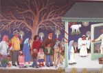 """Las Posadas"" from the book ""Family Pictures/Cuadros de familia"" by Carmen Lomas Garza, published by Lee & Low Books"