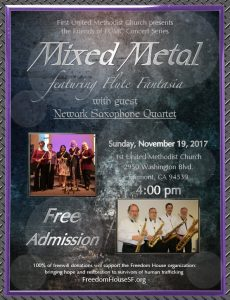 Flute_Fantasia with Newark Saxophone Quartet