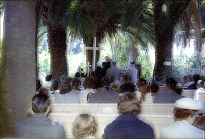 Services under the palms