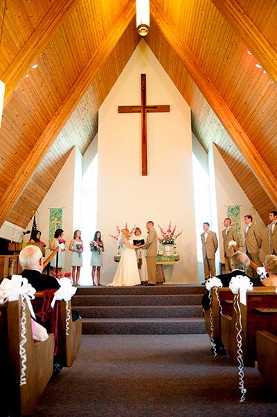 Wedding at First United Methodist Church