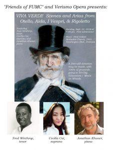 Scenes and Arias from Otello, Aida, I Vespri & Rigoletto