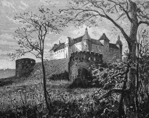 The action of the opera takes place in a castle in Scotland